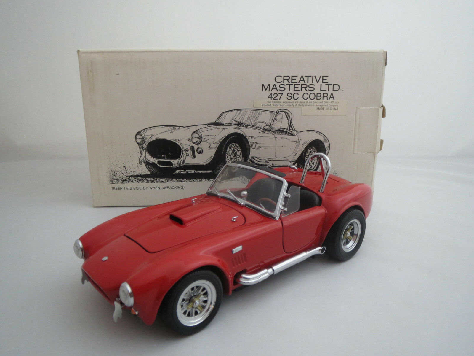 Creative masters Ltd 427 SC cobra (rosso) 1 20 embalaje original