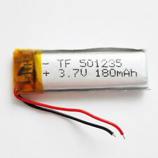 3.7V 180mAh LiPo polymer RechargeableLipo Battery 501235 For Mp3 GPS PSP DVD