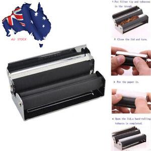 Automatic Metal Tobacco Roller Cigarette Making Maker Paper Rolling Machine AU!