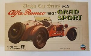 UNION ALFA ROMEO 1931 GRAN SPORT No. 2  1/24 MODEL KIT