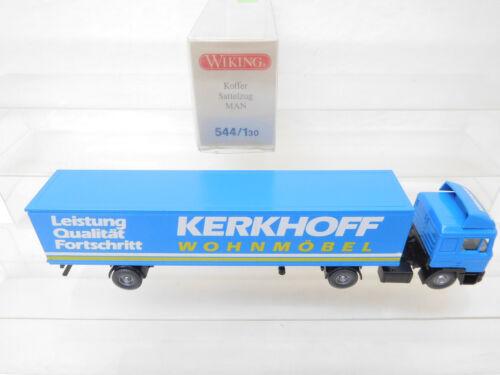 eso-5854 Wiking 1:87 MAN Sattelzug Kerkhoff sehr guter Zustand,