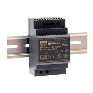 Hutschienen Netzteil 54W 12V 4,5A ; MeanWell HDR-60-12 ; DIN-Rail Trafo