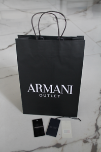 db4d8902e Image is loading Armani-Paper-Carrier-Gift-Bag-Shopping-present-wrapping-