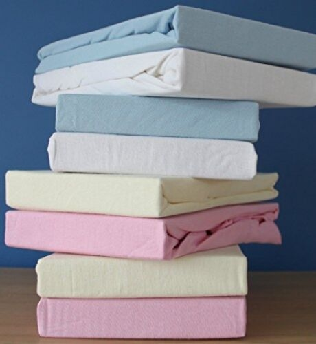 Pink Dudu N Girlie Mini Cot Cotton Jersey Fitted Sheets,100 X 50 Cm Pack Of 2