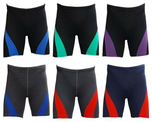ACCLAIM Fitness Beijing Mens Cotton Lycra Running Fitness Keep Fit Train Shorts