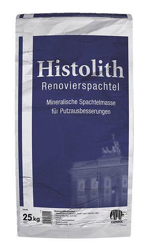 Caparol Histolith Renovierspachtel 25kg -mineralischer Feinmörtel-