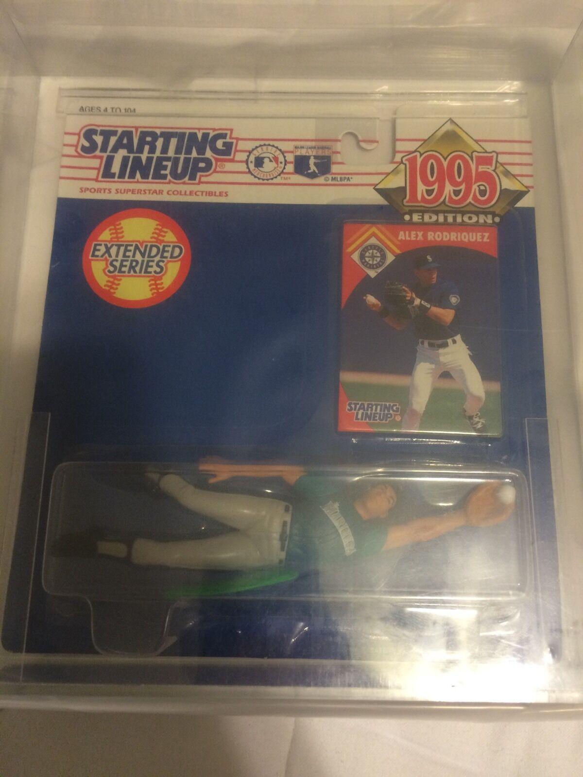 1995 Alex Rodriguez KENNER SLU estrellating Lineup Seattle Rookie azione cifra autorità 858590