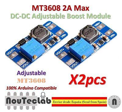 MT3608 2A DC-DC Step-Up Boost Modul Spannungswandler für Arduino Raspberry Pi
