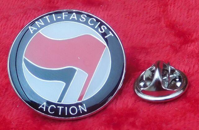 Antifaschistische Aktion Anstecknadel Abzeichen Antirassismus Rassistischer Prot