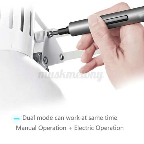US 64 In 1 Wowstick 1F Pro Electric Screwdriver Cordless Lithium Screw 200r//min