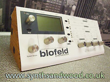 SOLID OAK STAND END CHEEKS FOR WALDORF BLOFELD AND PULSE 2 SYNTH