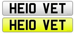 HELLO-VET-Personalised-car-Registration-Private-number-plate-veterinary-bargain