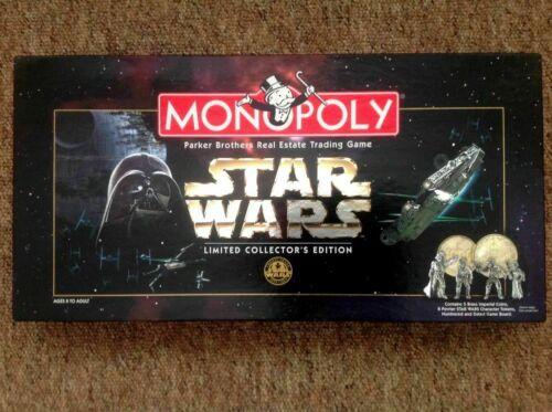 HASBRO Monopoly 1997 monopolio di Star Wars Limited Collector/'s 20Th ANNIVERSARIO EDI