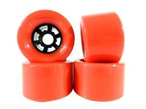 Blank Pro 83mm x 52mm Longboard Wheels Purple Flywheels