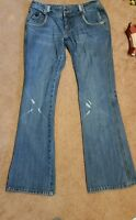 Billabong Womens Jeans Size 3 100% Cotton Used Good Condition Medium tint