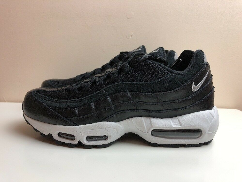 Nike Air Max 95 Premium Rebel Skulls7 EUR 41 noir Chrome 538416 008