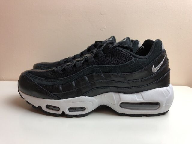 innovative design 7ada5 5bf12 Nike Air Max 95 Premium Rebel Skulls UK 7 EUR 41 Black Chrome 538416 008  for sale online   eBay