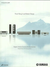 Yamaha Katalog Prospekt 2007 YSP-1100 YSP-1000 RX-V2700 DVD-S2700 NS-777 NS-9502