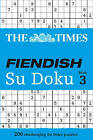 The Times Fiendish Su Doku Book 3: 200 challenging Su Doku puzzles by HarperCollins Publishers (Paperback, 2010)