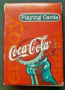 Coca Cola Bicycle Sealed Playing Cards New in Package