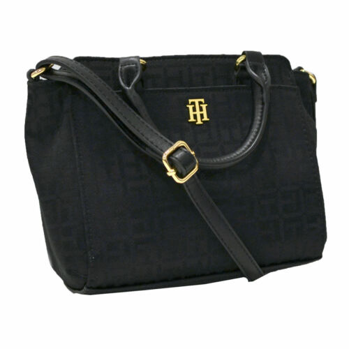 Tommy Hilfiger Womens Purse Crossbody Xbody Hand Shoulder Bag Satchel Small New