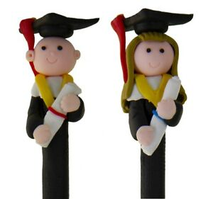 Graduation Pens Hand-Moulded - Choose from Male or Female Graduate - Student O9UH1cQJ-09090141-418513318