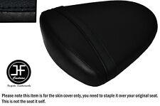 STYLE 2 BLACK VINYL CUSTOM FOR SUZUKI GSXR 1000 K7 K8 07-08 REAR SEAT COVER ONLY