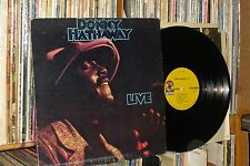 "DONNY HATHAWAY ""Live"" orig 1972 Atco LP (the ghetto)"