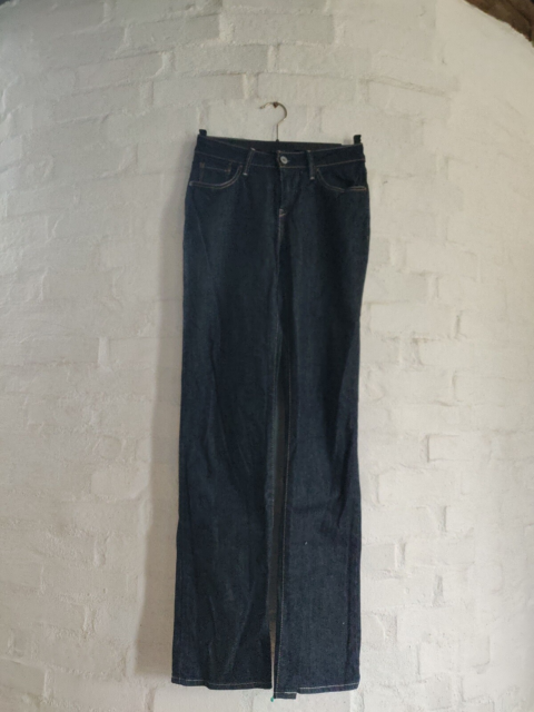 Jeans, Levi's, str. 26,  Mørkeblå,  Denim,  God men brugt