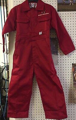 GIRLS /& LITTLE FARMERS FOR BOYS KIDS RED MASSEY FERGUSON BOILER SUIT NEW £20