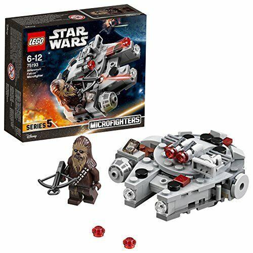 LEGO UK 75193 Star Wars Millennium Falcon Microfighter Star Wars Toy BRAND NEW