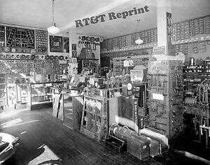 Photograph Vintage Standard Auto Parts Store 1926