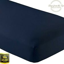 Dual Mattress Adjustable Split King Fitted Bed Twin 2 XL Sheets 15'' Deep Pocket