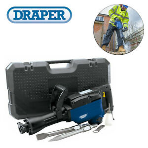 Details about Draper 83352 1600W 230 Volt 15Kg 45 Joules Demolition Hammer  Breaker / Kango