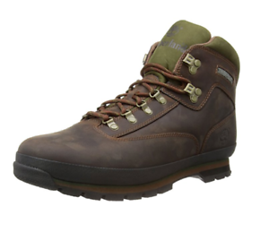 Details about TIMBERLAND TB095100214 EURO HIKER Mn's (M) Medium Brown Leather Hiking Boots