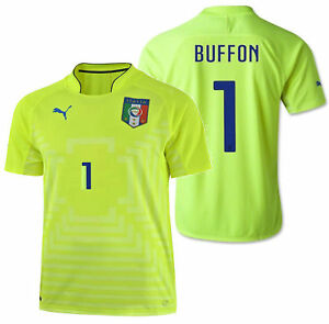 low priced 60ccf 51cff Details about PUMA GIANLUIGI BUFFON ITALY GOALKEEPER JERSEY FIFA WORLD CUP  2014.