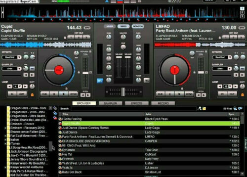 FREE NEXT DAY DELIVERY Virtual DJ Pro 7 ON HDD DJ SOFTWARE- DISCO SOFTWARE
