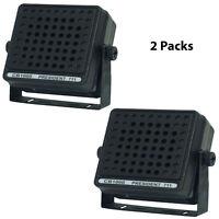 Pair Of Pyramid Cb1000 4 Inch External 12 Watt Cb Communications Radio Speaker on sale