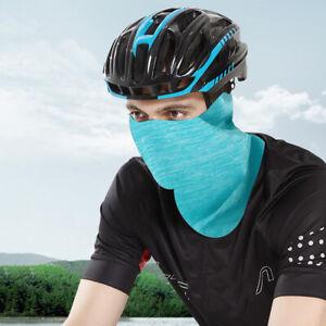 Thin Summer Unisex Neck Gaiter Tube Scarf Balaclava Motorcycle Cycling Bandana