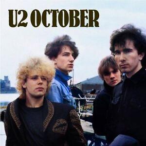 October-U2-CD-Sealed-New-Remastered