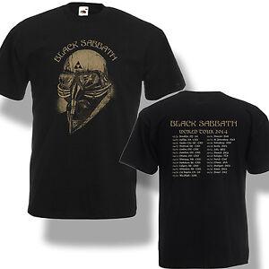 black sabbath world tour dates 2014 t shirt legend rock concert men shirt s 2xl ebay. Black Bedroom Furniture Sets. Home Design Ideas