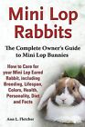 Mini Lop Rabbits, The Complete Owner's Guide to Mini Lop Bunnies, How to Care for your Mini Lop Eared Rabbit, including Breeding, Lifespan, Colors, Health, Personality, Diet and Facts by Ann L Fletcher (Paperback, 2013)