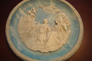 """Incolay CA collector plate """"Sonets of Shakespeare"""""""
