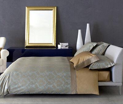 Weiß/flachs Brillant Signoria Firenze Caprera Queen-size Bezug Bettwaren, -wäsche & Matratzen Bettwäschegarnituren