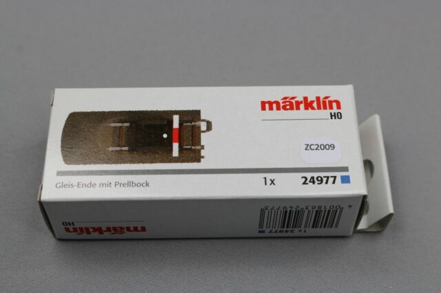 Marklin - Terminal of Binary with Gel Bumper 77,5mm - Ho - 24977