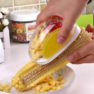 One-Step-Corn-Peeler-Thresher-039-Tool-Kitchen-Cob-Kerneler-Cutter-Stripper-Remover