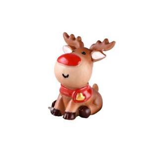 Dollhouse-Miniature-Christmas-Tree-Wreath-Bear-Snowman-Gift-Box-New-Decor-X5V9