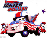 9 Disney Cars Mater Tow Truck Set Character Peel Stick Wall Border Cut Out
