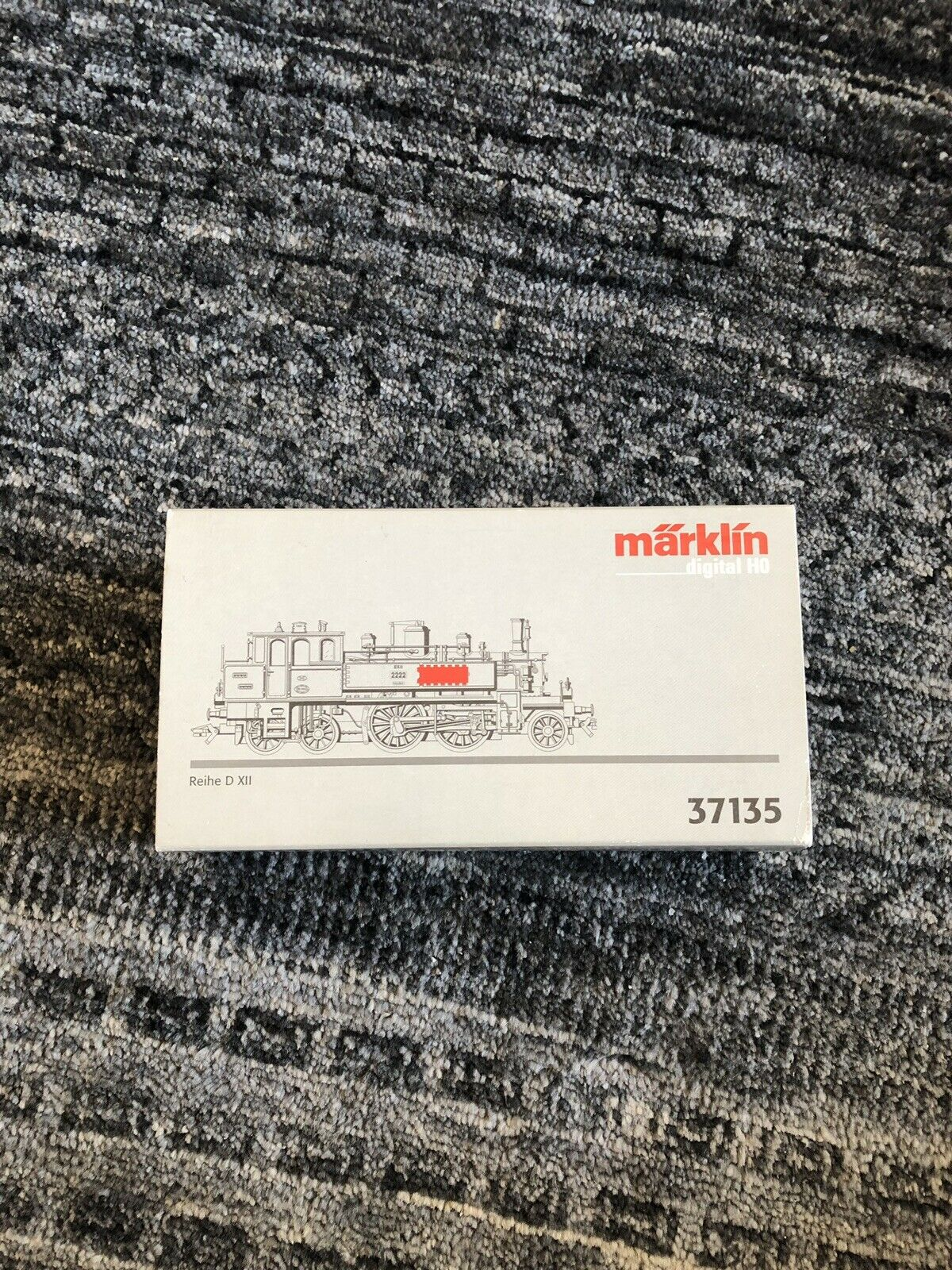 vendita online marklin train. Digital Digital Digital HO. Reihe D XII 37135  bellissima