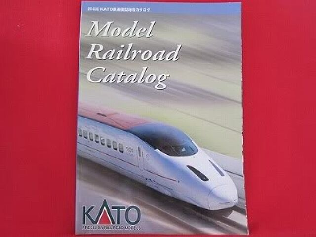 KATO N Gauge N Scale Model train railroad catalog book 2004